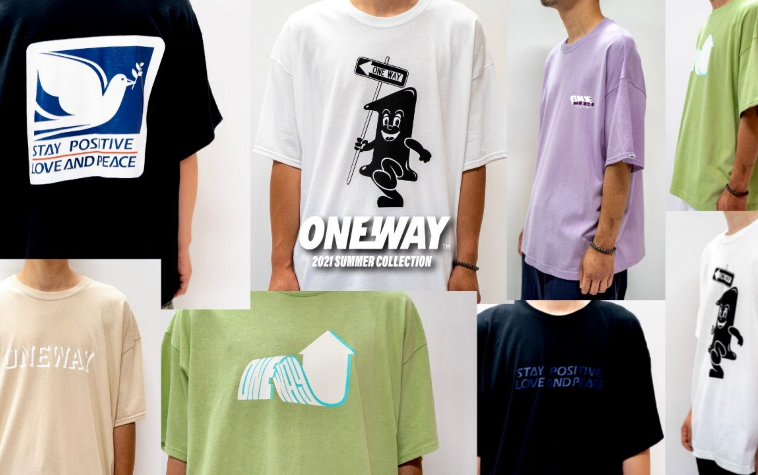 ONEWAY 2021 SUMMER COLLECTION